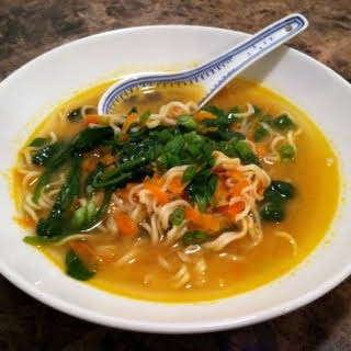 Miso Chicken-less Soup.
