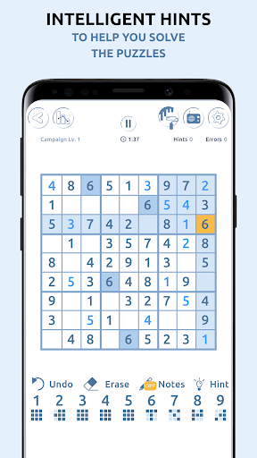 Sudoku Genius - Sudoku Free Games filehippodl screenshot 2