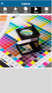 impreso serge - náhled
