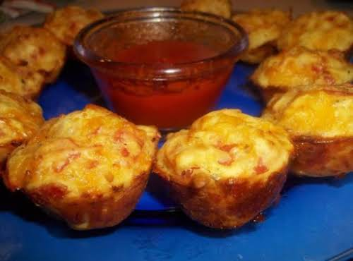 "Pepperoni Pizza Pops Recipe ""We had these as an appetizer for card night..."