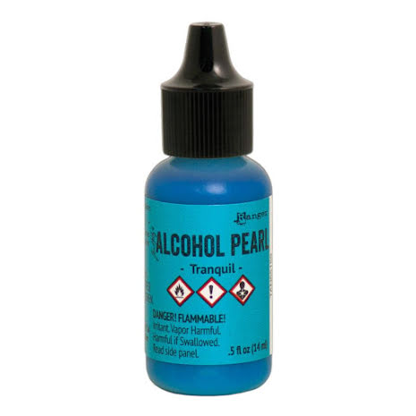 Tim Holtz Alcohol Pearl 14ml - Tranquil