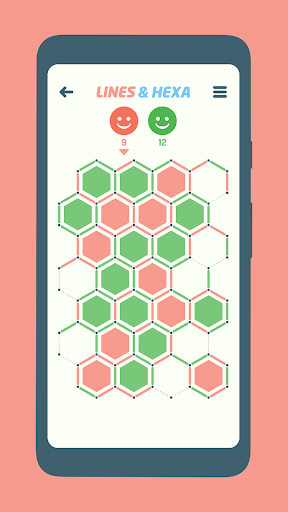 Lines and Hexa 1.5 screenshots 1