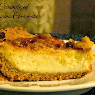 Caramelized Pumpkin Cheesecake
