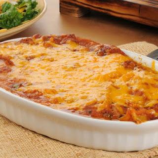 Healthy Burrito Casserole