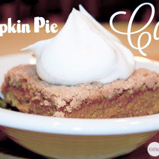 Cake Mix Pumpkin Pie Filling Recipes