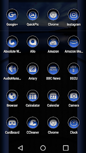Under Blue Icon Pack Screenshot