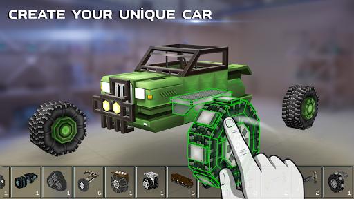 Blocky Cars - Online Shooting Game screenshots 17
