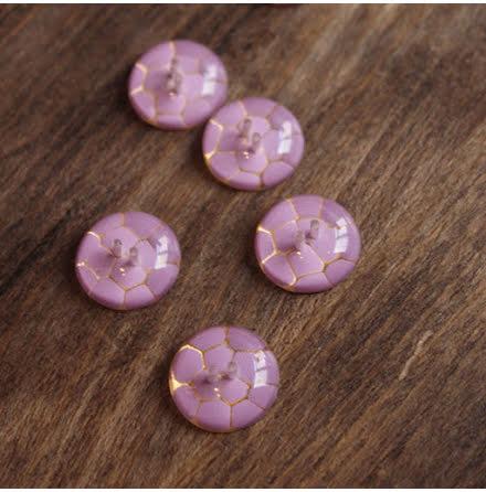 Krackelerad, 20mm - lilarosa