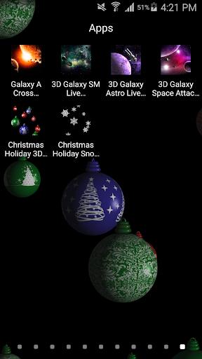 Xmas Holiday 3D Live Wallpaper Screenshot 3