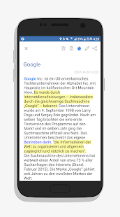 FNote - Notiz, Notizbuch Screenshot