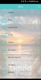 Liquid Life and Leisure App- screenshot thumbnail