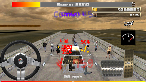 無料动作AppのゾンビVSカー - 3Dシミュレーション|記事Game