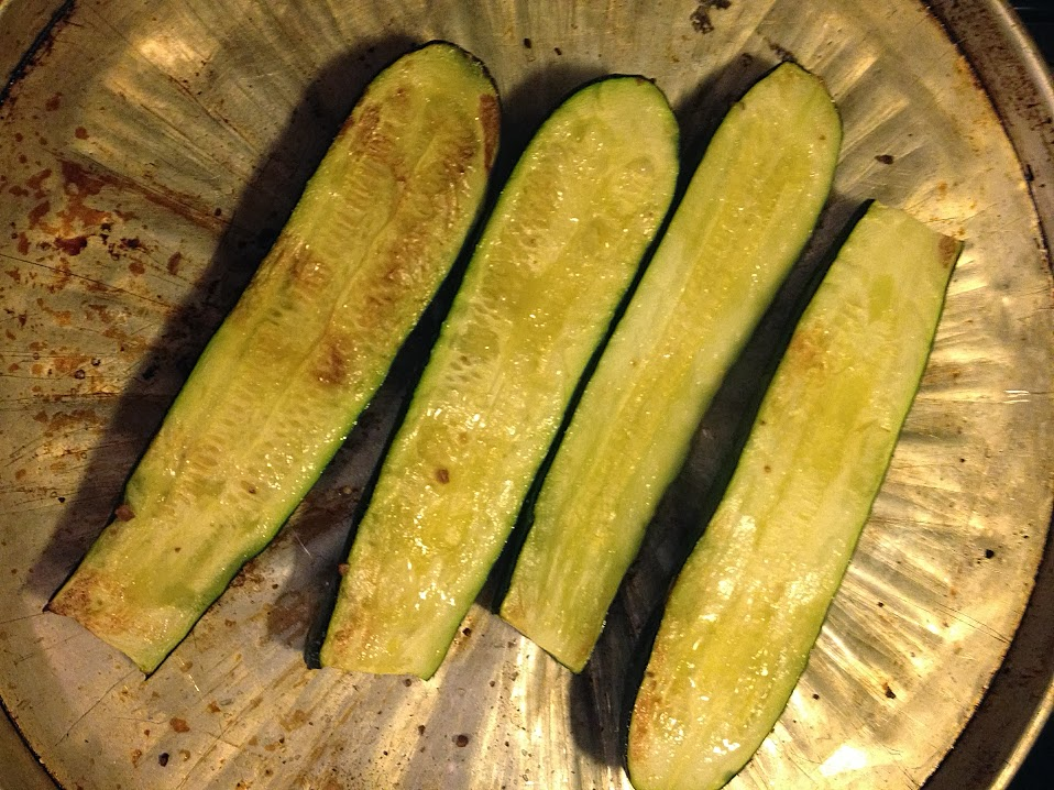 Cooked zucchini