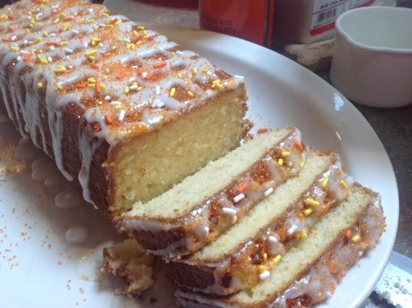 Krusteaz Mimosa Pound Cake Recipe