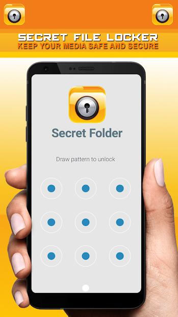 Secret File Locker - Security Lock App screenshot 2