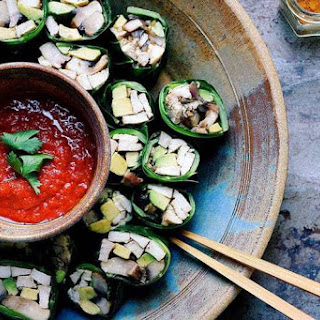 Paleo Collard Green Chicken Avocado Rolls Recipe