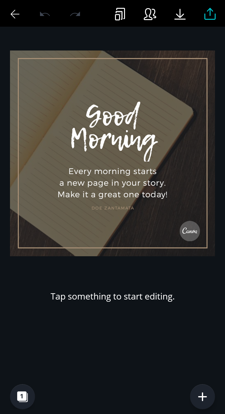 how to use canva app
