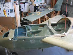 Photo: Prepping the interior for Zolatone