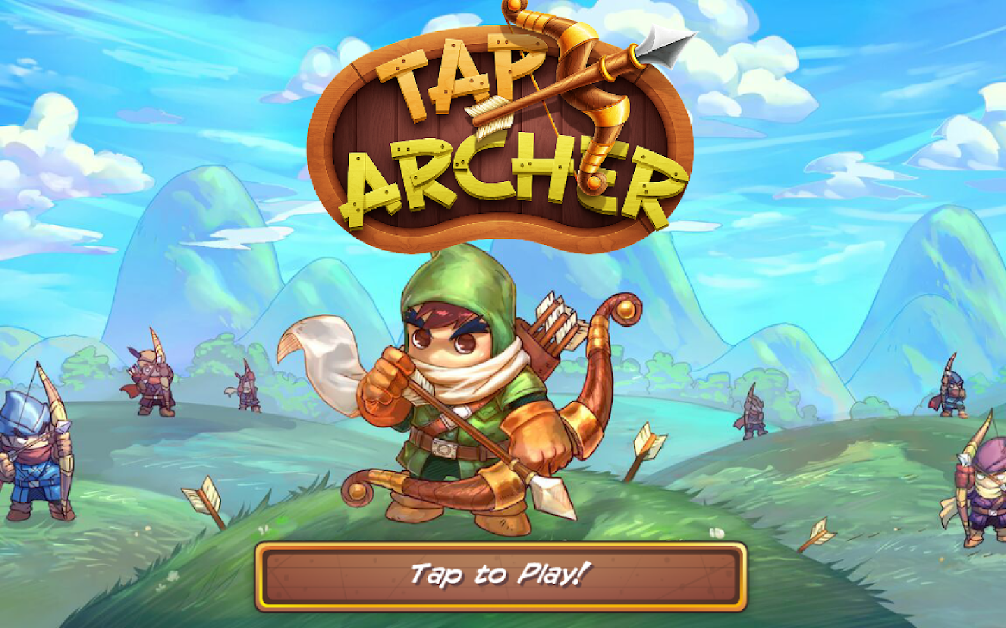 Tap Archer- screenshot