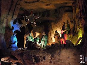 Photo: jeskynní betlém