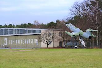 Photo: Luftwaffenmuseum znajduje się w Berlinie na lotnisku Gatow