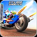 Police Bike Robot Shooter: Moto Racing Simulator icon
