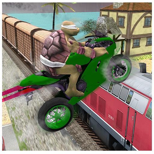 Super Hero Bike Highway Stunts (game)