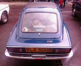 Photo: Looking alot like the Lancia Fulva of the era,  probably due to it's Italian designer.