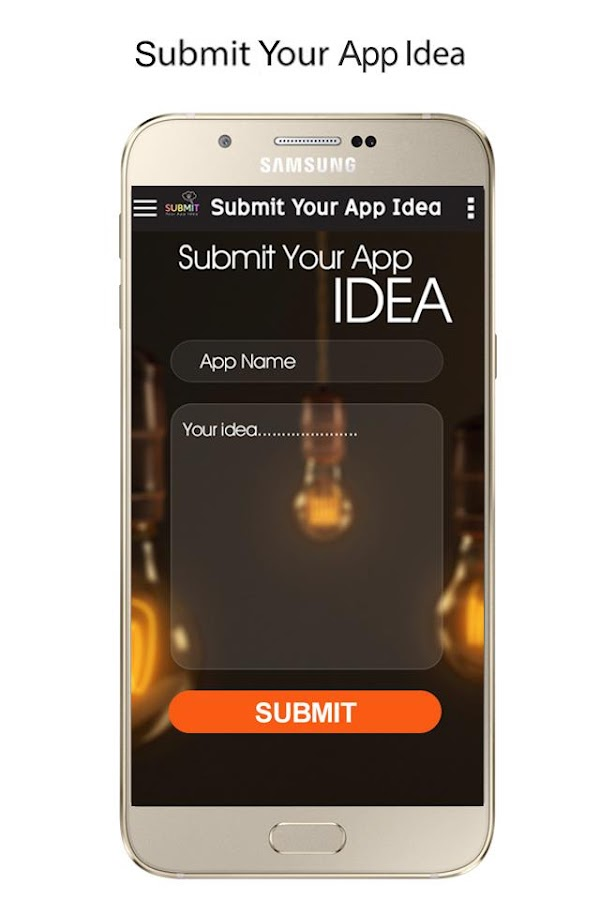 Submit Your App Idea- screenshot