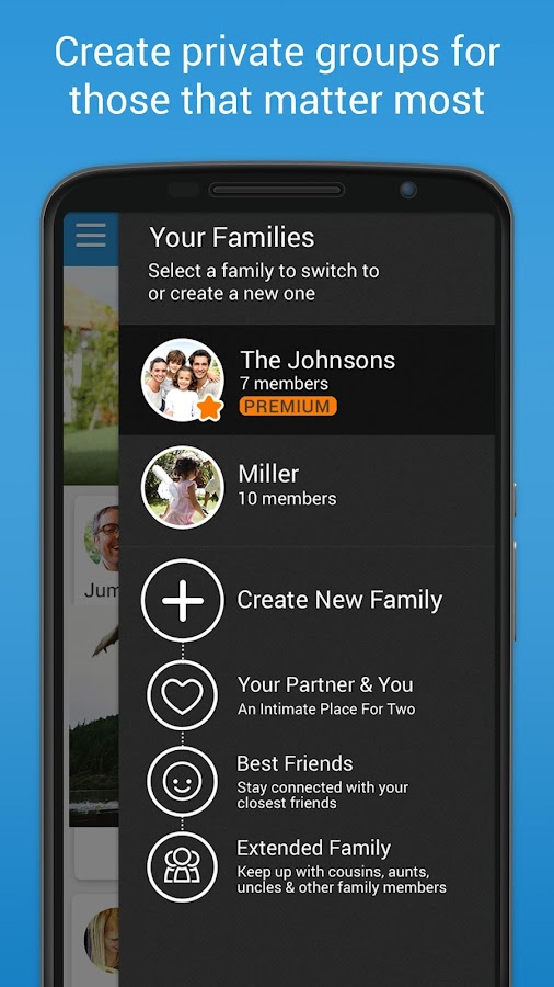 FamilyWall - screenshot