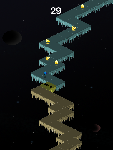 Zig Zag Space Dash- screenshot