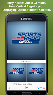 KVEN Sports Radio 1450AM- screenshot thumbnail