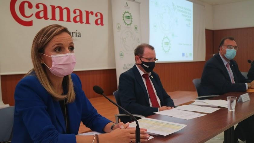 Imagen de la presentación del la Red Extenda de Almería el pasado octubre.
