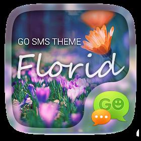 GO SMS PRO FLORID THEME