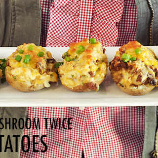 Twice Baked Sausage Potatoes