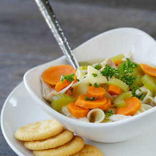 The Easiest Homemade Chicken Noodle Soup.