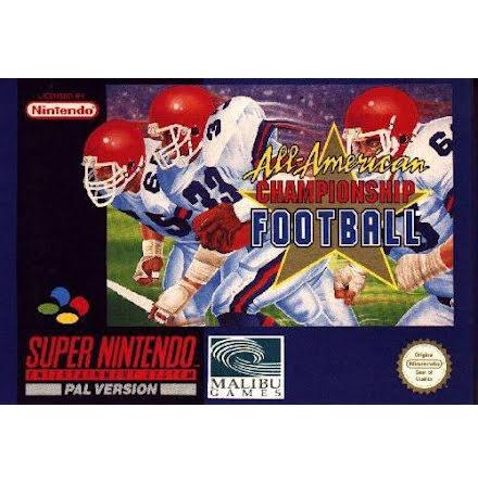 All-American Championship Football