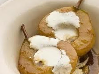 Cinnamon-mascarpone Baked Pears Recipe