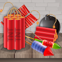 Bombs and Explosions Firecrackers crackers game icon