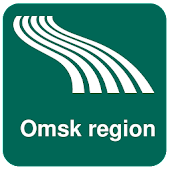 Omsk region Map offline