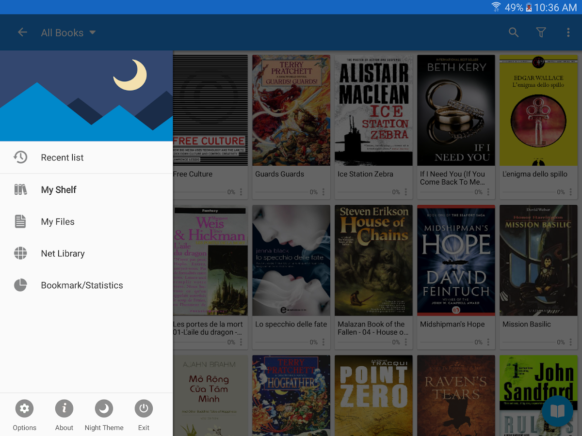 Moon+ Reader Pro- screenshot