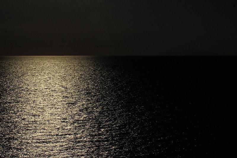 Linea orizzontale in contro luce di Bibanto