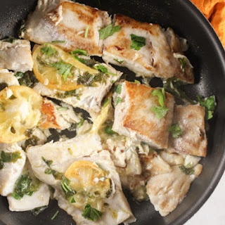 Simple Italian Pan Fried Fish.