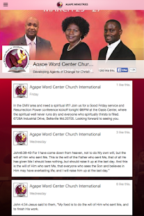 Agape Word Center- screenshot thumbnail