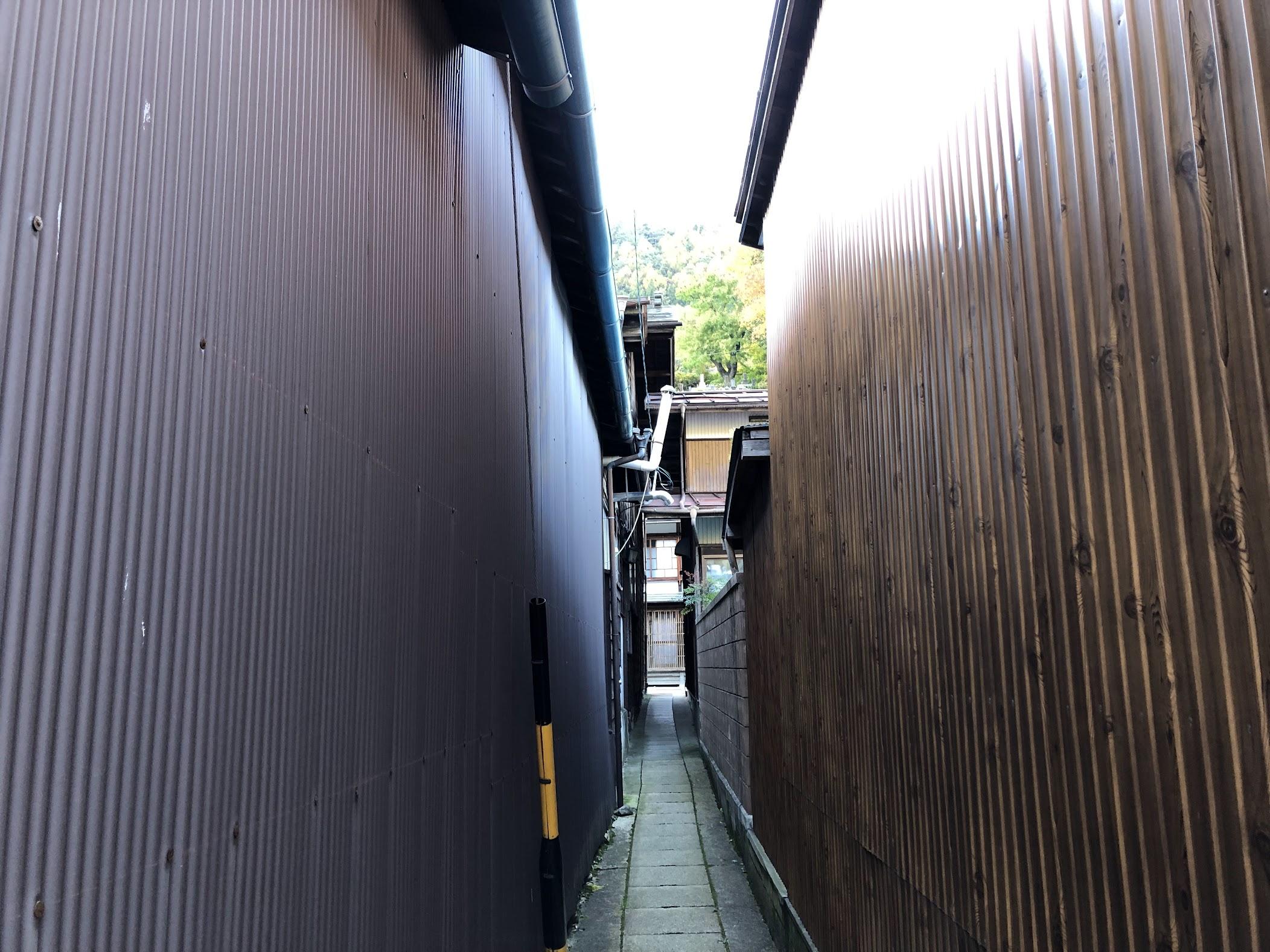 奈良井宿 小路