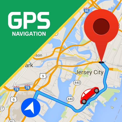 GPS Route Finder & Transit: Maps Navigation Live Icon