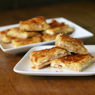 Turkey and Cheese Puff Pastry.