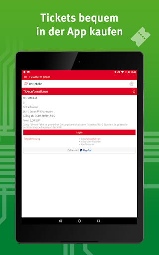 VRR-App - Fahrplanauskunft 5.37.14418 screenshots 13