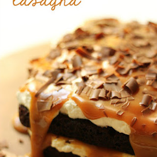 Chocolate Lasagna.