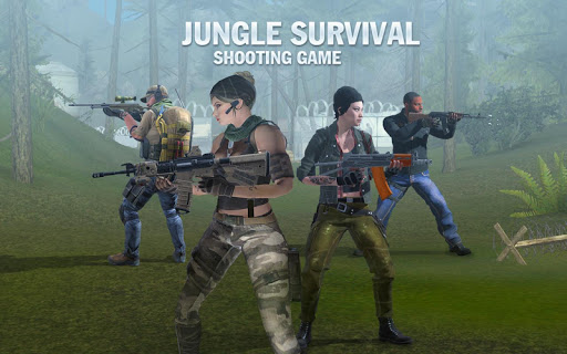 Fort Squad Battleground - Survival Shooting Game fond d'écran 1
